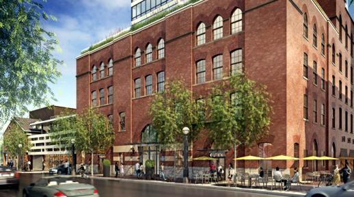 FIVE Condos at 5 St Joseph Street rendering