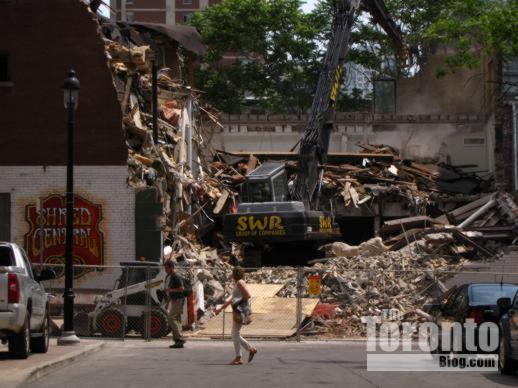 19 St Nicholas Street demolition