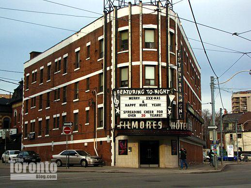 Filmores Hotel 212 Dundas Street East Toronto