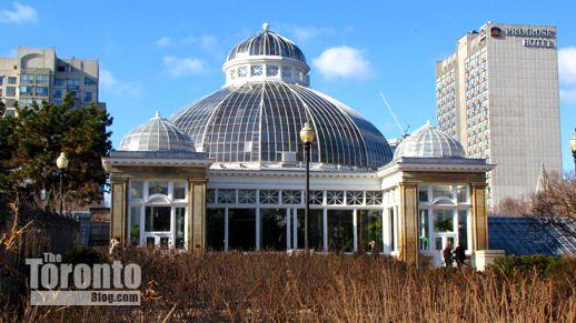 1910 Palm House at Allan Gardens