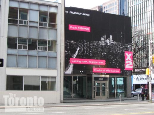 X2 Condos billboard