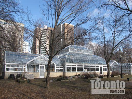 Allan Gardens Toronto greenhouses