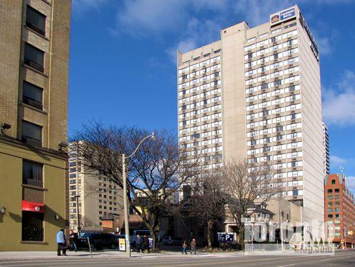 308-314 Jarvis Street Toronto and Best Western Primrose Hotel