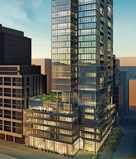Charlie Condos building rendering