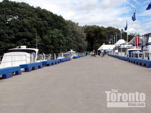 the Ontario Place marina