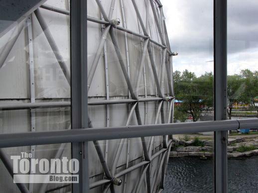 the Ontario Place Cinesphere