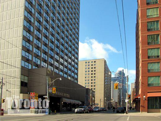 Carlton Street west of Jarvis Street Toronto