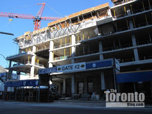 MaRS Centre Phase 2 construction progress
