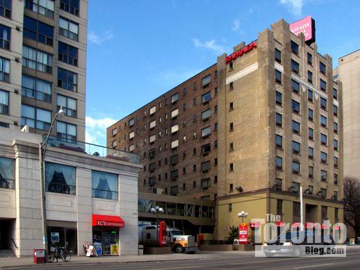 Metropolitan Essex condos and Ramada Plaza hotel Jarvis Street Toronto