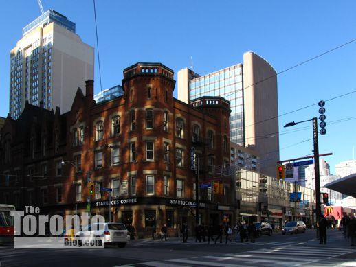 NW corner of Yonge and College Streets Toronto