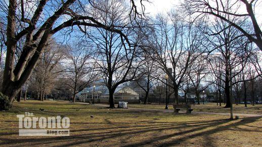 Northwest section of Allan Gardens Toronto