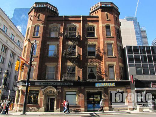 Oddfellows Hall at Yonge & College Streets Toronto