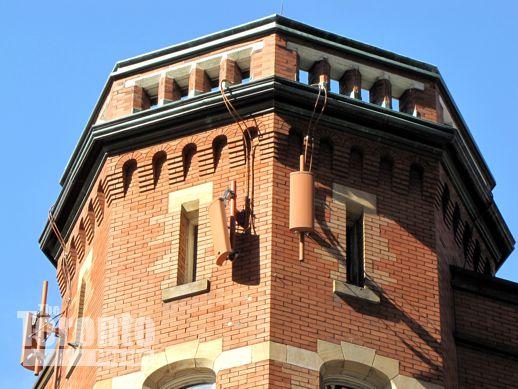 Oddfellows Hall building detail