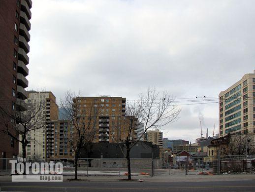 Pace Condos Toronto site