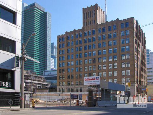 Peter Street Condominiums site