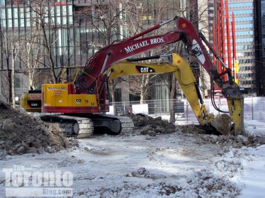 X2 Condos site excavation