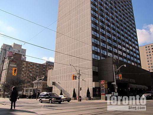 southwest corner of Jarvis & Carlton Streets Toronto