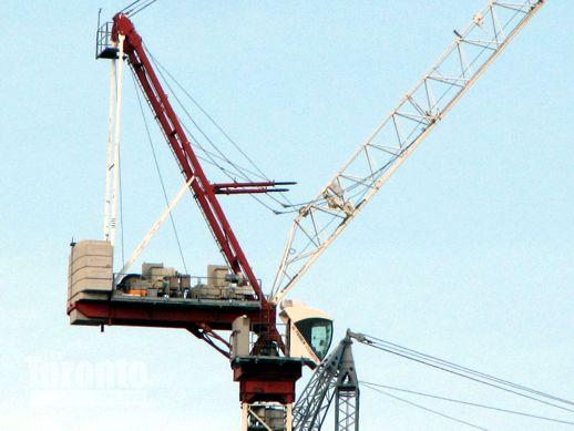 Burano Condos cranes