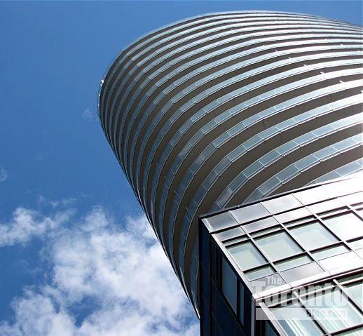 Panorama condo tower Toronto
