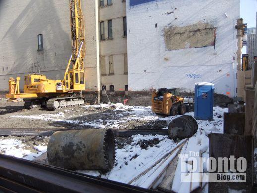 Theatre Park condo construction