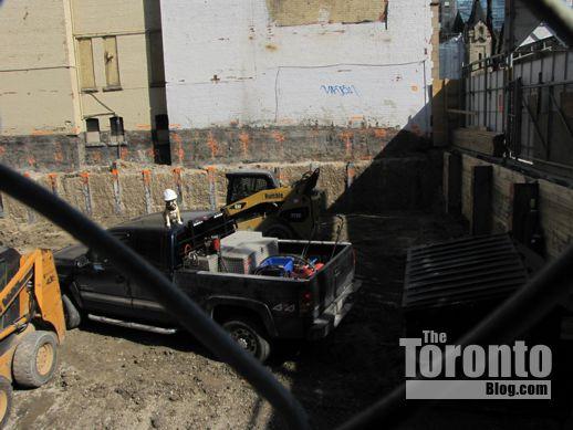 Theatre Park condo construction site