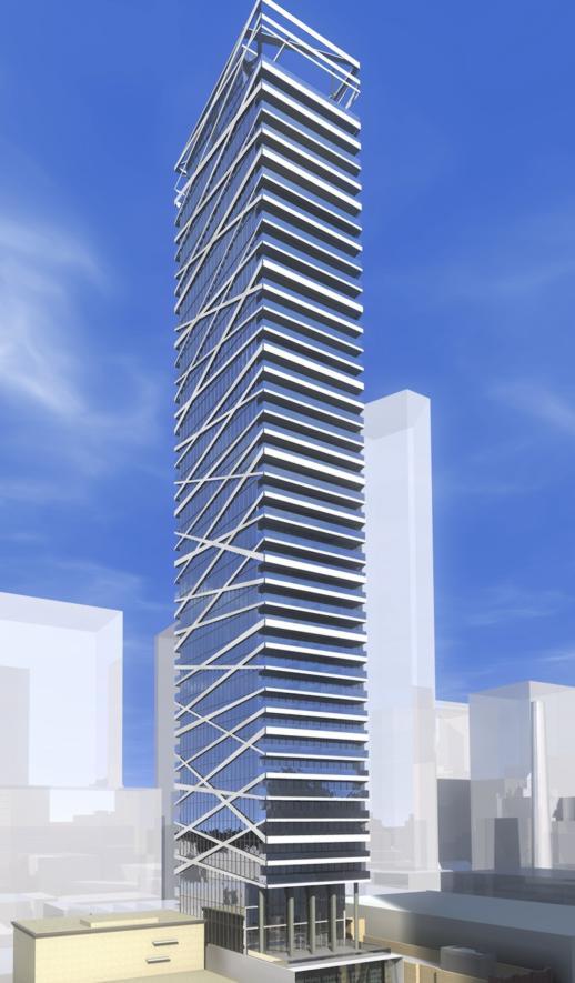 Theatre Park condo tower rendering
