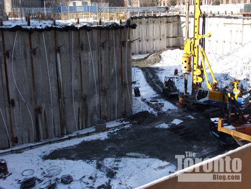 UCondos excavation Toronto