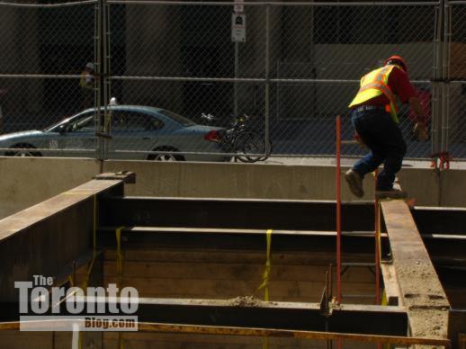 Front Street construction Toronto