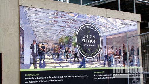 Union Station revitalization poster