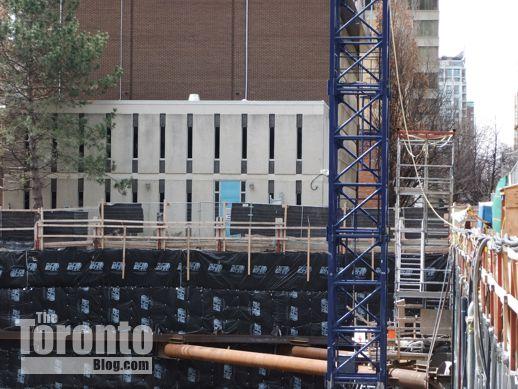 X2 Condos crane installation