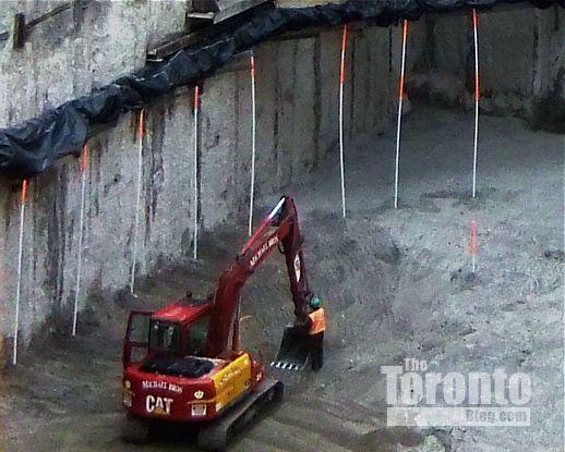 X2 Condos excavation