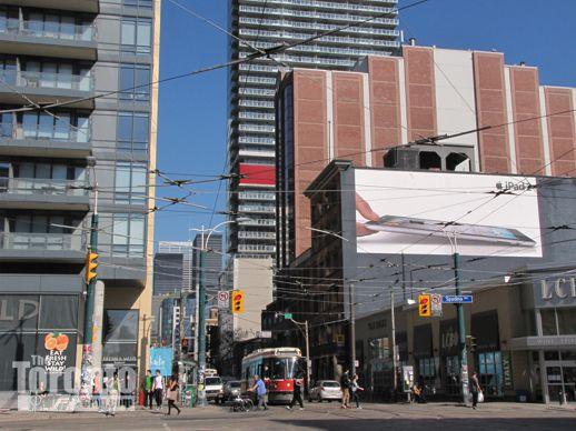 King & Spadina intersection Toronto