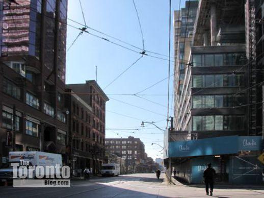 King Street West at Charlotte Street Toronto