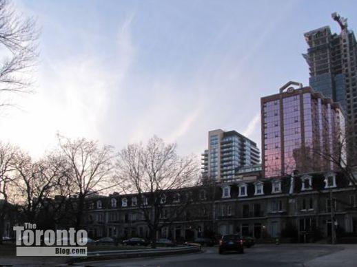 Clarence Square Park Toronto