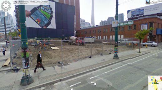 Google Street view of 401 King Street West