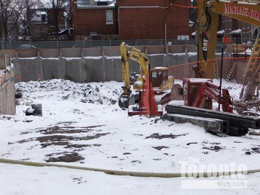 Nicholas Residences excavation