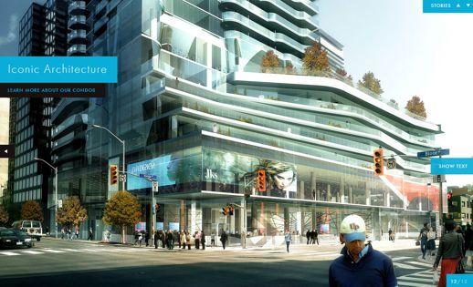 One Bloor condo tower Toronto