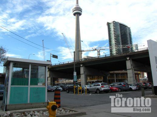 Ten York proposed condo tower location