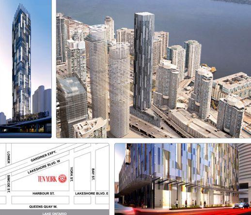 Ten York proposed condo tower Toronto