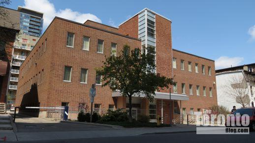 CCAS building at 26 Maitland Street Toronto