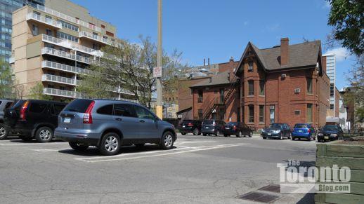 15 Wellesley Street East municipal parking lot