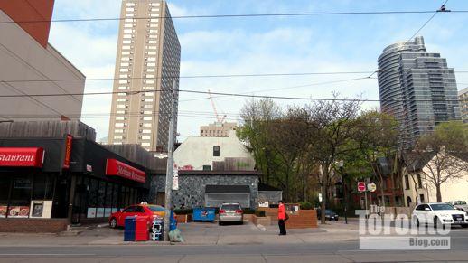 Southwest corner of Church & McGill Streets