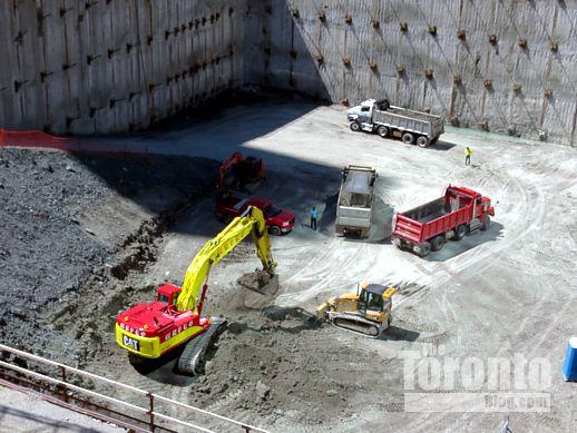 One Bloor condo tower construction