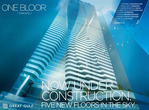 One Bloor condo project