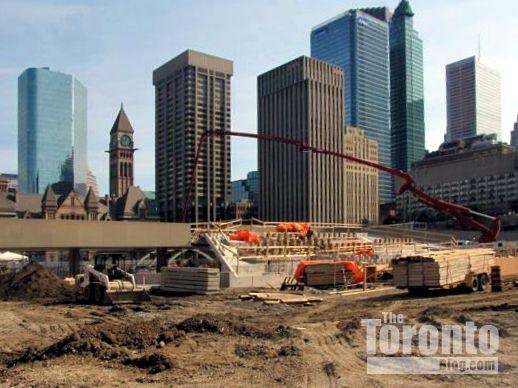 Nathan Phillips Square revitalization progress