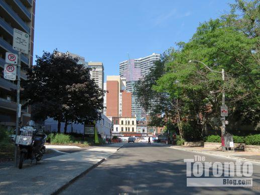 west end of Dundonald Street near Yonge Street