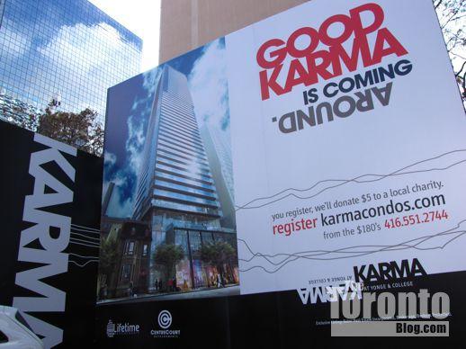 Karma condos presentation center