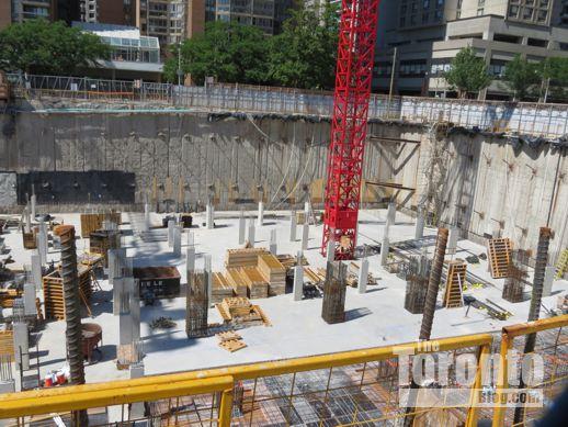 U Condos construction progress