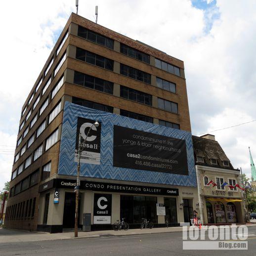 Casa 2 condo sales centre on Bay Street