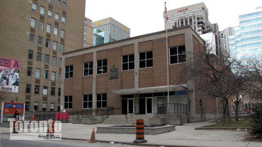 Charles Street postal station February 26 2012